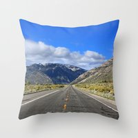 Fredericksburg, CA Throw Pillow