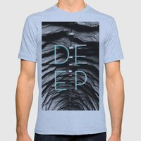 End of the tunnel Mens Fitted Tee Athletic Blue SMALL