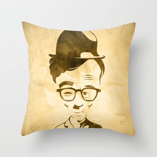 WOOLIE CHAPLEN Throw Pillow