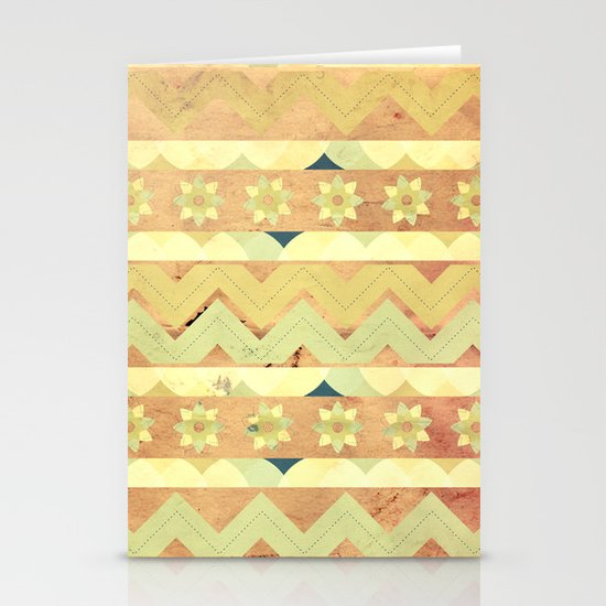 Spring Pattern  Stationery Card