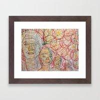 Brother's Good Vibrations Framed Art Print