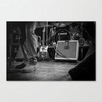 Eddie Vedder Guitar Canvas Print