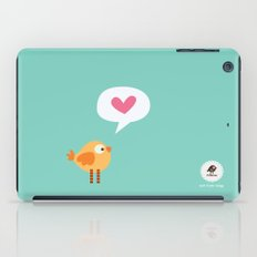 Love Birdie iPad Case