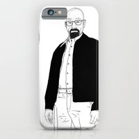 iPhone & iPod Case featuring Walter White by Nick Cocozza