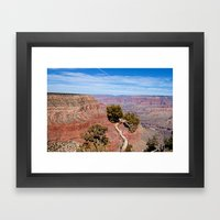Grand Canyon Twisted Pin… Framed Art Print