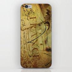 I ♥ France iPhone & iPod Skin