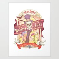 The Greatest Spectacle E… Art Print