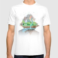 I Dreamt Last Night Agai… Mens Fitted Tee White SMALL