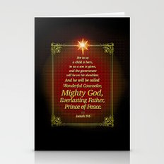 For To Us A Child Is Bor… Stationery Cards