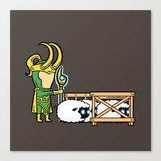 Part Time Job - Sheep Farm Canvas Print