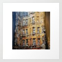 London Facade Art Print