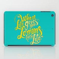 When Life Gives You Lemons... iPad Case