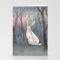 Forest Dawn Stationery Cards