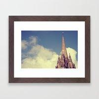 Vintage Oxford Framed Art Print