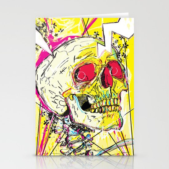 Ain't No Grave Stationery Card