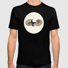 anatomia  Black Mens Fitted Tee SMALL