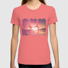 Summer Womens Fitted Tee Pomegranate SMALL