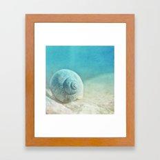 APRICOTEE | Blue version Framed Art Print