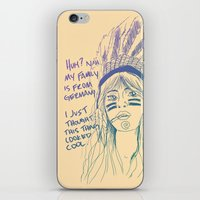 Attention Whore - Color iPhone & iPod Skin