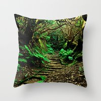 Forest Secrets Throw Pillow