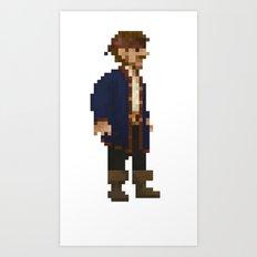 Pixel Ranger Art Print