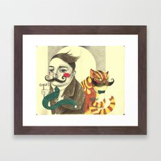 Two Fine Gentlemen Framed Art Print