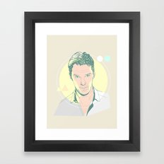 Benedict Cumberbatch Framed Art Print