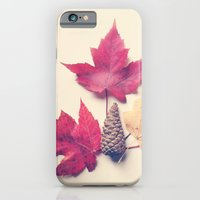iPhone & iPod Case featuring Red Maple Leaf Collection by Olivia Joy StClaire