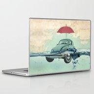 Laptop & iPad Skin featuring VW Chance Of Rain In Dee… by Vin Zzep