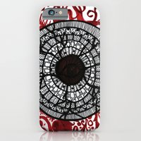 iPhone & iPod Case featuring breaking own shields by Blanca MonQnill Sole