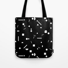 My Favorite Pattern 3 black Tote Bag