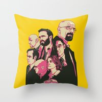 Br Ba ALT Throw Pillow