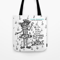 Mr. Strange by Luke Vang Tote Bag