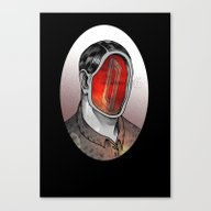 Canvas Print featuring Mr Impossible  by Dead Toy Matte