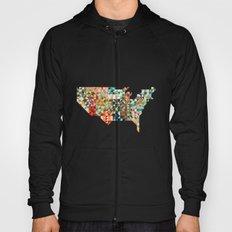 Geometric United States Hoody