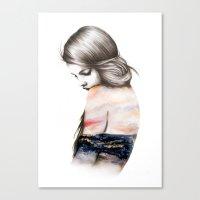 Interlude // Illustratio… Canvas Print