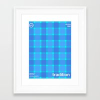 tradition single hop Framed Art Print