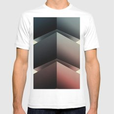 Color Cube SMALL Mens Fitted Tee White