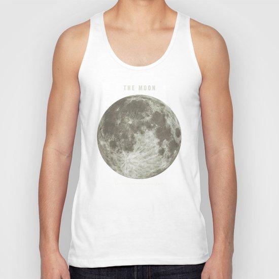 The Moon  Unisex Tank Top