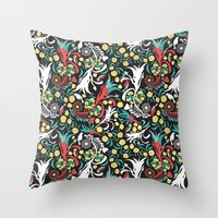 Kookaburra Camouflage Throw Pillow