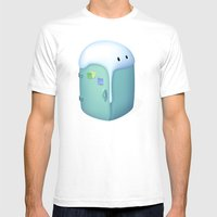 Refrigerator Mens Fitted Tee White SMALL