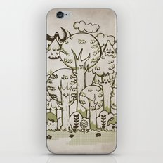 Enchanted Forest iPhone & iPod Skin