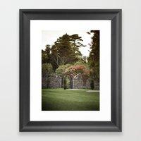 Woodstock Gardens Framed Art Print