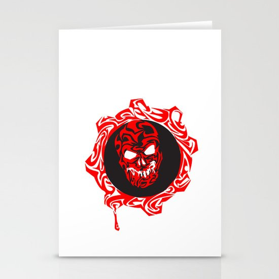 Gears Of War Design Stationery Card