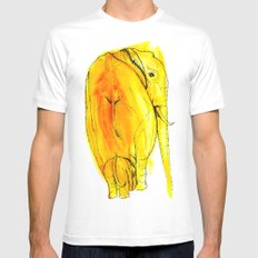 the looked after Mens Fitted Tee SMALL White
