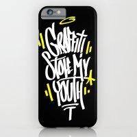 graffiti iPhone & iPod Cases featuring Graffiti by squadcore
