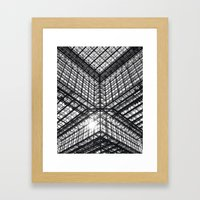 Metal and Glass Framed Art Print