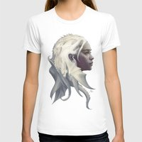 dragon T-shirts featuring Mother of Dragons by Artgerm™