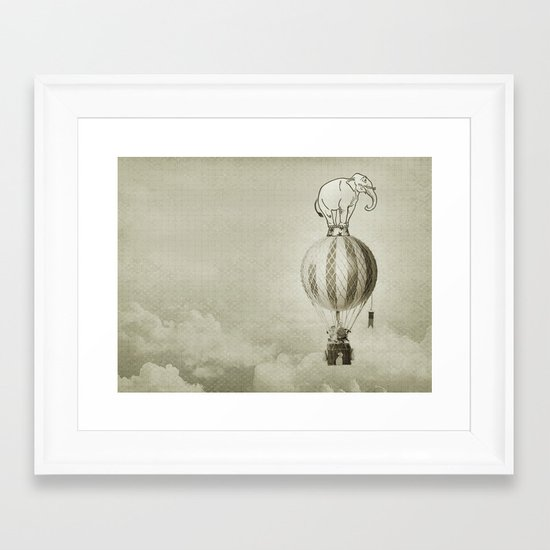 jumbo 02 Framed Art Print