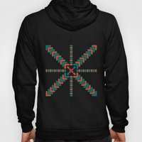 X Marks the Center Hoody